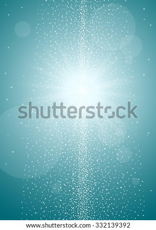 abstract color background, shining star lights background - stock vector