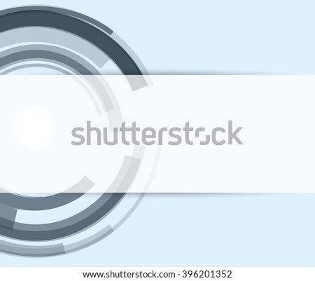 abstract color circle style stripe with blank tag pattern background