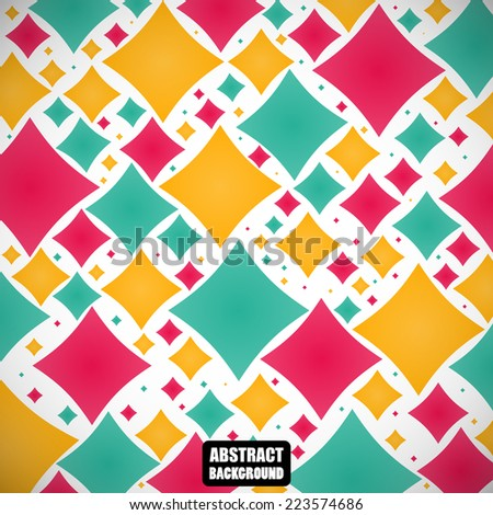 abstract colored elegant figures on the gray background. vector illustration eps10
