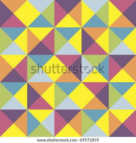 abstract colored geometric background - stock vector