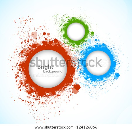 Abstract colorful background - stock vector