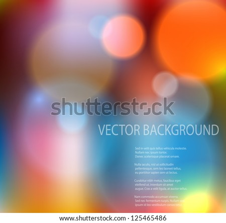 Abstract colorful background. EPS10 vector illustration.