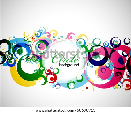 Abstract colorful background . eps10 Vector illustration. - stock vector