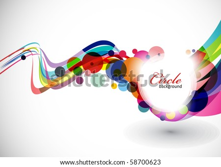 Abstract colorful background . eps10 Vector illustration.