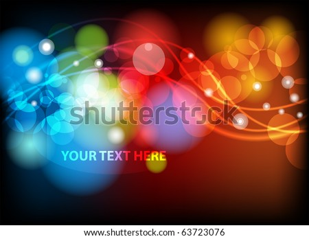 Abstract colorful background. EPS10 vector illustration. - stock vector