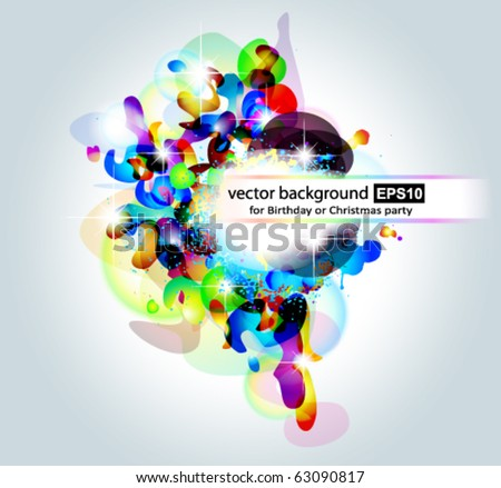 Abstract Colorful Background for Business Cover - stock vector