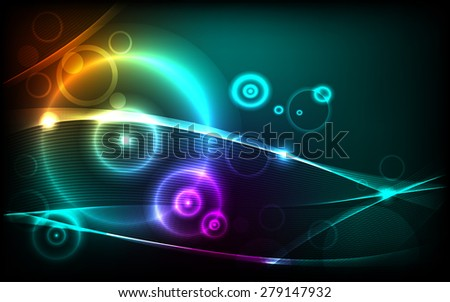 abstract colorful background for your artwork - stock vector