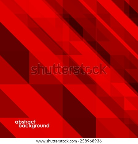 Abstract colorful background from triangles. Vector illustration. Eps 10