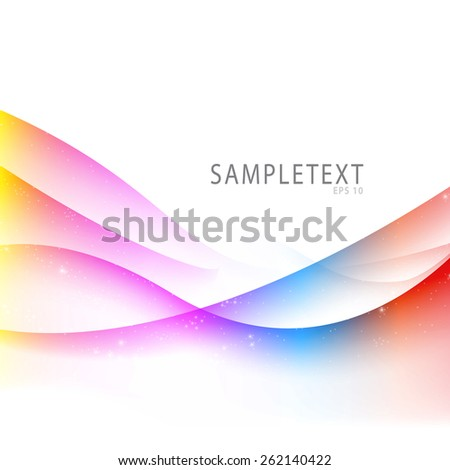 Abstract Colorful Background Texture - stock vector