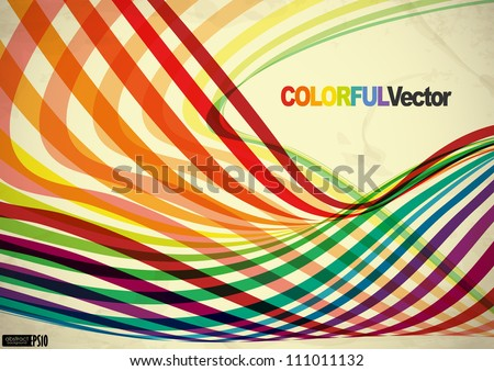 Abstract colorful background. Vector illustration. Eps 10. - stock vector