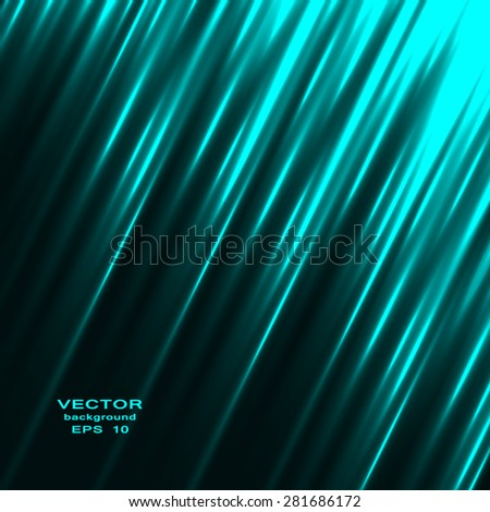 Abstract colorful background with swirl waves. Vector illustration - stock vector