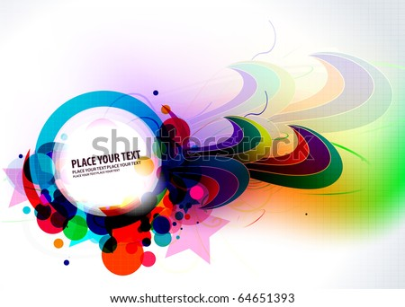 abstract colorful banner design. vector illustration.