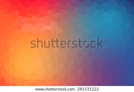 Abstract colorful blurred vector backgrounds for your design - stock vector