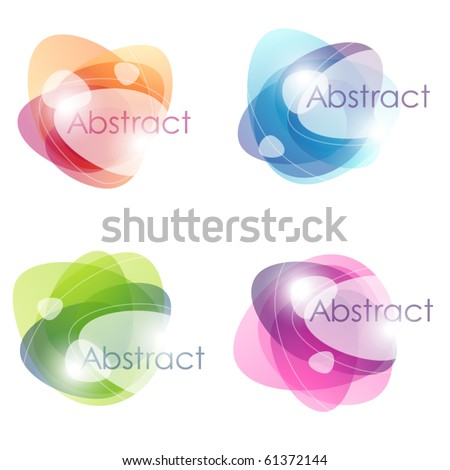 Abstract colorful bubbles. Vector illustration.