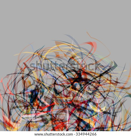 Abstract colorful creative background. Vector EPS10 - stock vector