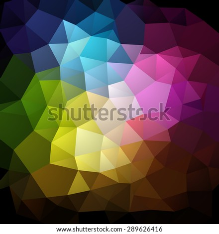 Abstract colorful  geometric background. Vector illustration EPS 10