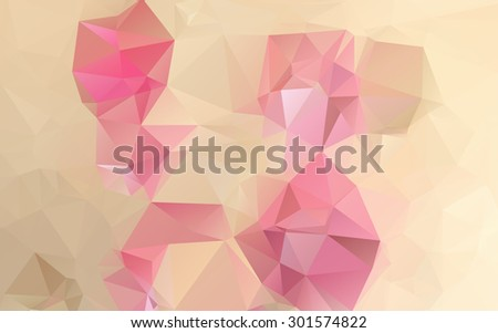 Abstract colorful geometrical background - stock vector