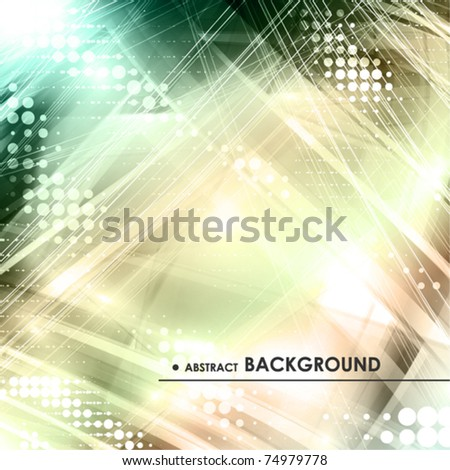 Abstract colorful metallic digital background. Vector - stock vector