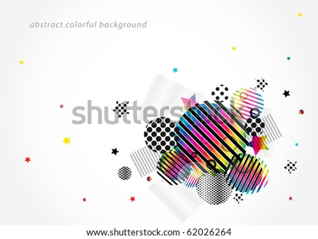 Abstract colorful modern background (eps10)