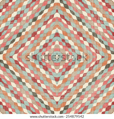 abstract colorful seamless pattern - stock vector