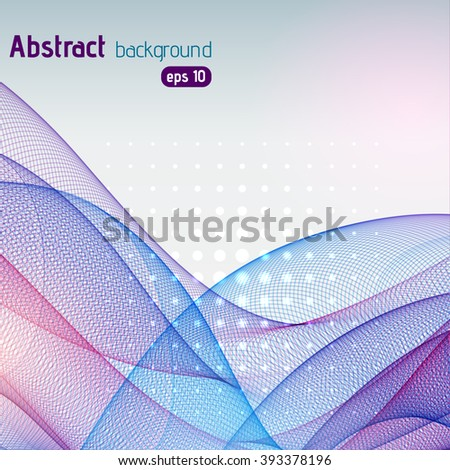 Abstract colorful template vector background. Pink, purple, blue colors.