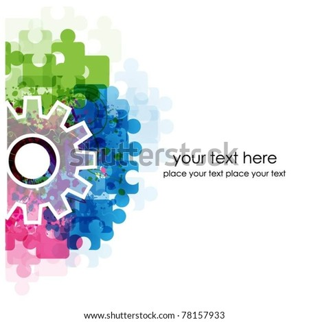 abstract colorful vector background-vector - stock vector