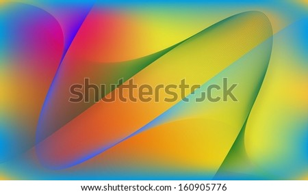 Abstract colorful vector line background