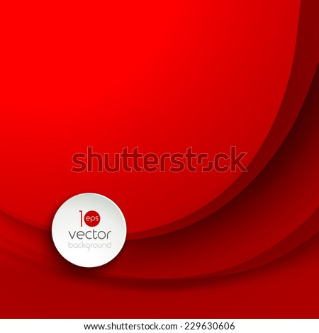 Abstract colorful vector wave background . - stock vector