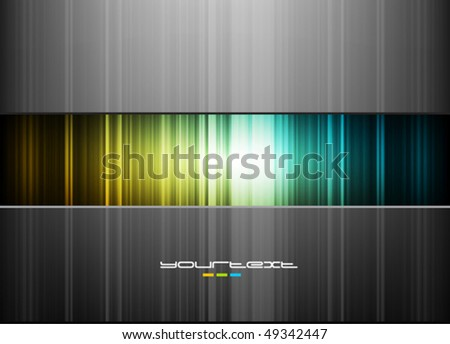 Abstract colorful wallpaper. Vector. - stock vector