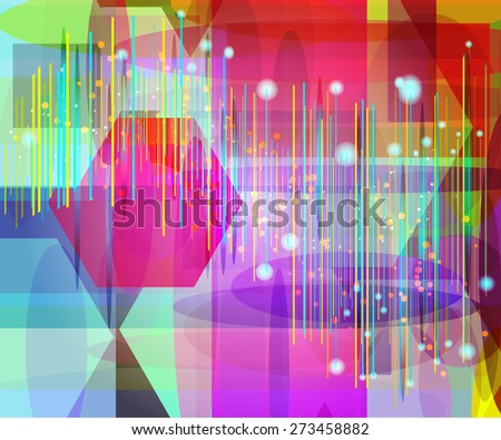 abstract colors geometry background for your text or presentation. - stock vector