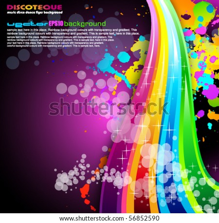 Abstract Colrful Business Background for Brochure or Flyers - stock vector