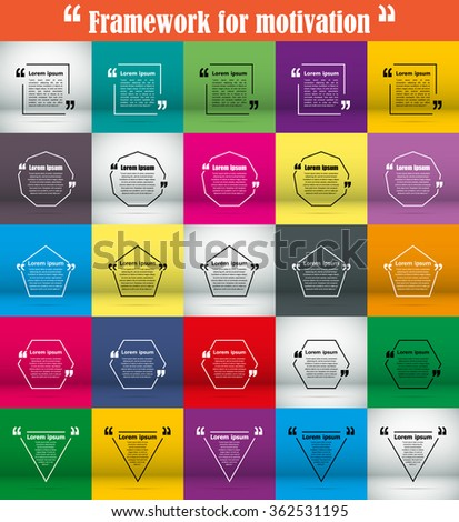 Abstract composition description static picture info stock vector abstract composition description static picture info flyer icon marketing phrase note business ccuart Image collections