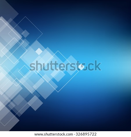 Abstract composition, polygonal lozenge construction, sky theme, square block, diamond box surface, crystal facet, rhombus logo texture, business backdrop, screen saver, EPS10 vector illustration - stock vector