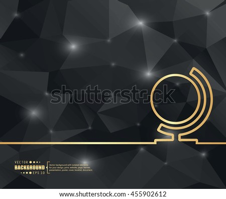 Abstract concept vector background. For illustration template design, creative business infographic, page, web, brochure, banner, presentation, booklet, document. - stock vector
