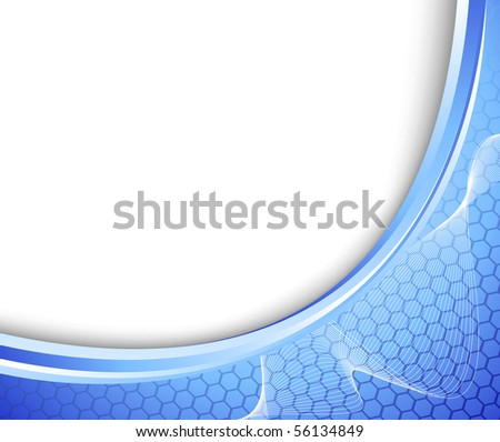 Abstract connection concept banner. Vector illustration - stock vector