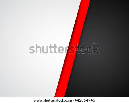 Abstract corporate background with tech elements. Vector design - stock vector