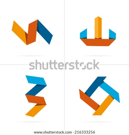 Abstract Creative concept vector icon. For Web and Mobile applications isolated on background, design illustration template, flat business infographic, social media, graphic art, corporate style. - stock vector