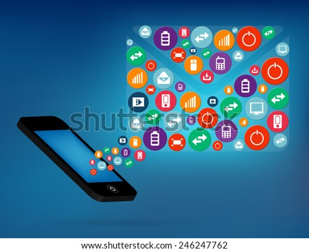 Abstract creative concept vector siluet mail of icons. For web and mobile applications isolated on background, illustration template design, Business infographic and social media. - stock vector