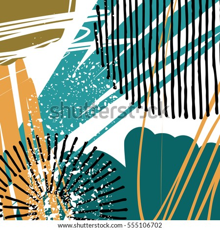 Abstract Creative Header Modern Universal Background Stock Vector