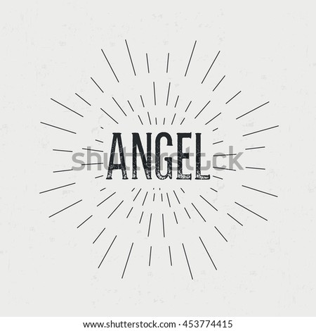 Abstract Creative Vector Design Layout Text Stock Photo Photo