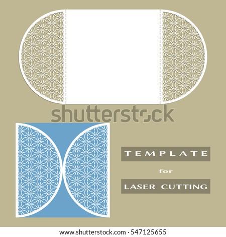 folded invitation template