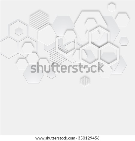 abstract 3D geometry pattern background