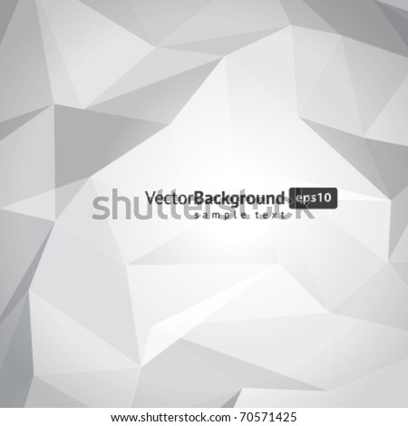 Abstract 3d wire vector background. Eps 10. - stock vector