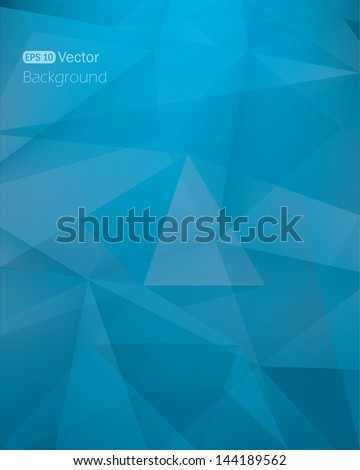 Abstract dark blue background.Vector illustration - stock vector