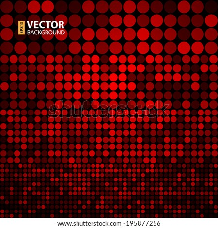 Abstract dark red circles seamless pattern background. RGB EPS 10 vector illustration