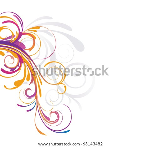 abstract design - stock vector