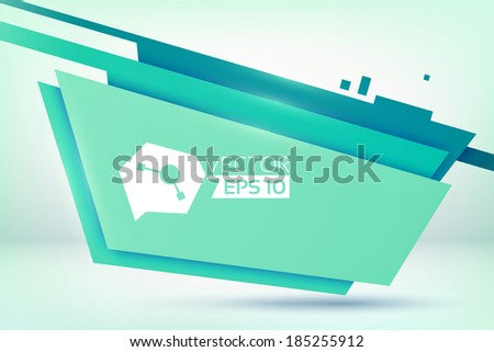 Abstract design concept. Background. Vector Illustration, eps10, contains transparencies. - stock vector