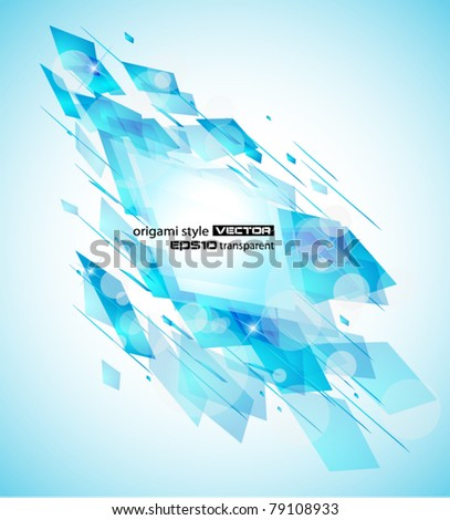 Abstract design flyer for business or corporate brochure backgrounds or cards. - stock vector