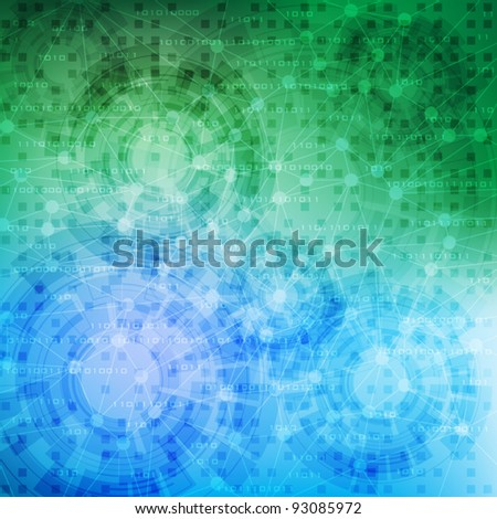 abstract design modern technology theme vector background. eps10