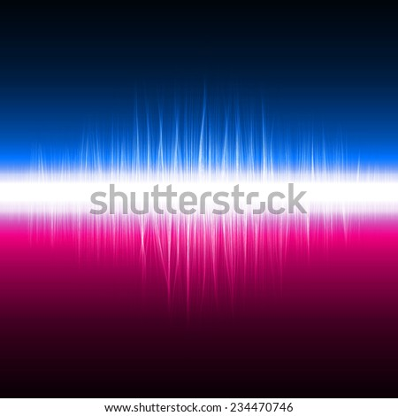 abstract design of dual color magic lines.(sound effect version)